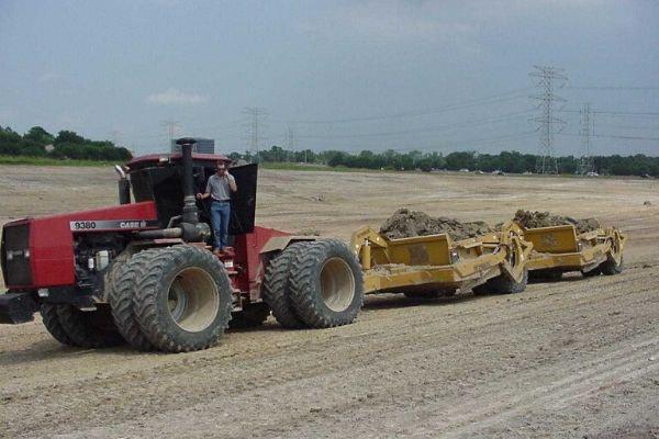Pond Construction Equipment