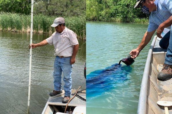 Lake Management - Depth Survey and Pond Dye Application